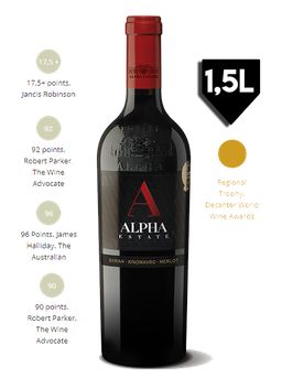 Alpha Red (S.M.X) Alpha Estate *MAGNUM* 1,5L