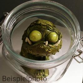 Gewürzgurke im Einweckglas