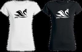 """T-Shirt """"Schwanenkönig"""" Damen"""