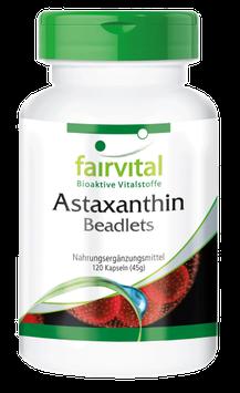 Astaxanthin Beadlets mikroverkapselt - 120 Kapseln