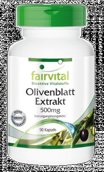 Olivenblatt Extrakt 500mg - 90 Kapseln
