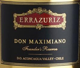 Errazuriz Don Maximiano 2014