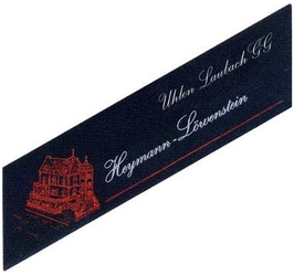 Heymann-Löwenstein Uhlen Laubach VDP Grosse Lage 2015