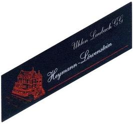 Heymann-Löwenstein Uhlen Laubach VDP Grosse Lage 2014