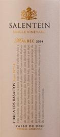 Salentein SVY Los Basaltos Estate Malbec 2015