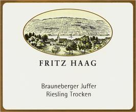Fritz Haag Brauneberger Juffer Riesling Trocken 2012