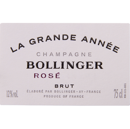Bollinger Rosé in giftbox