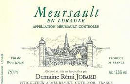 Rémi Jobard Meursault en luraule 2013