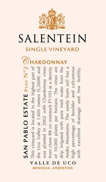 Salentein SVY San Pablo Chardonnay 2015