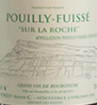 A.C. Forest Pouilly-Fuissé Sur La Roche 2010