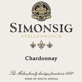 Simonsig Estate Chardonnay 2017