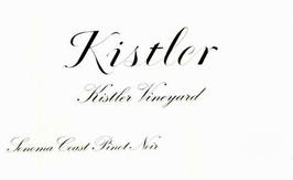Kistler Vineyards Pinot Noir Sonoma Coast 2013
