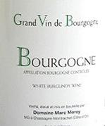 Marc Morey Bourgogne Blanc 2014