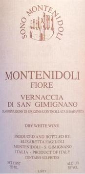 Montenidoli Vernaccia di san Gimignano II Fiore 2011