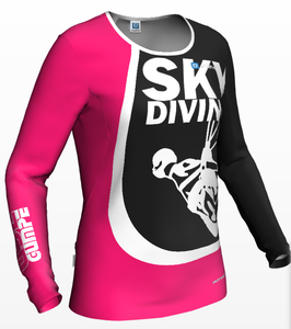 Women's Jersey skydiving pink