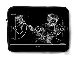 Crank-LaxField-Female (Laptop Sleeve-Black)