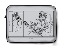 Crank-LaxField-Female (Laptop Sleeve-Grey)