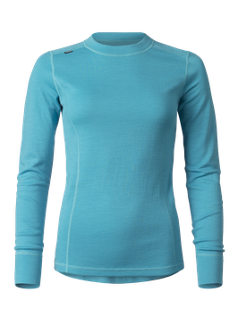 MERINO SUPERSOFT SWEATER WOMEN // türkis