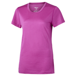 MERINO T-SHIRT WOMEN // pink