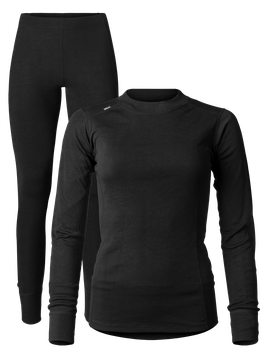 SUPERACTIVE SET WOMEN // schwarz