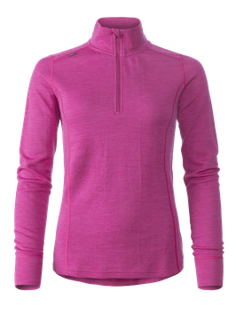 MERINO SUPERSOFT POLO WOMEN // pink