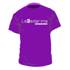 "Camiseta ""God save the K""  - morada"