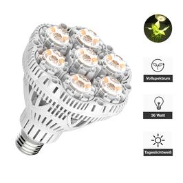 Pflanzenlampe 36 Watt, Vollspektrum, Tageslichtweiß