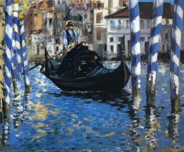 The Grand Canal of Venice, Edouard Manet