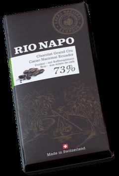 Bio-Schokolade 73% von RIO NAPO - Chocolat Grand Cru