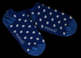 Sneaker-Socken von WILDSOCKS - Glowing Points Bio-Baumwolle