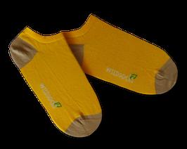 Sneaker-Socken von WILDSOCKS - Sunshine Bio-Baumwolle