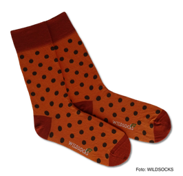 Socken von WILDSOCKS - Trusty Points Bio-Baumwolle