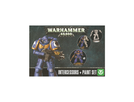 WARHAMMER  INTERCESSORS + PAINT SET