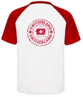 T-Shirt Der Schweizer 100%Bio Baumwolle Gr. L