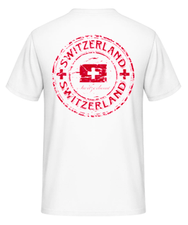 T-Shirt Der Schweizer 99%Baumwolle,1%Viskose   Gr. L