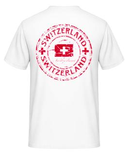 T-Shirt Der Schweizer 99%Baumwolle,1%Viskose   Gr. XL