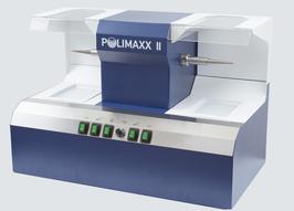 Greiner Polimaxx II - Macchina Lucidatura con Velocità Variabile, Aspirazione e Luci Led a 2 Postazioni
