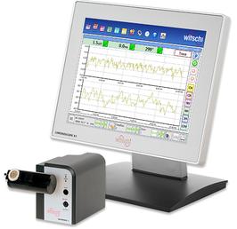 Witschi Electronic Chronoscope X1 con Microfono Robotizzato Micromat C - Apparecchio Analisi Movimenti Meccanici