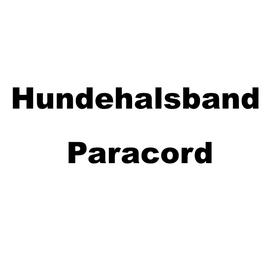 Hundehalsband Paracord