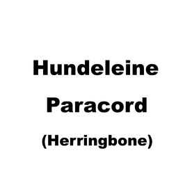 Hundeleine Paracord Herringbone