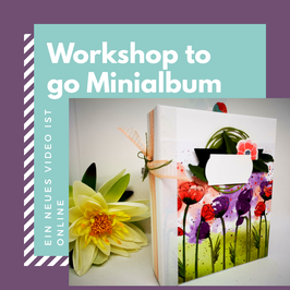 Workshop to Go Minialbum mit Stack the Deck Bindung