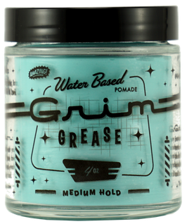 Grim Grease Medium Hold Waterbased Pomade