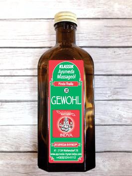 GEWOHL - Ayurveda Massageöl