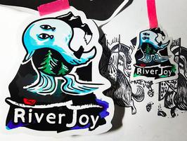 RiverManステッカーセット(大小2枚)