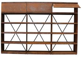 OFYR - Wood Storage Corten WS-300
