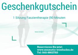 Gutschein 1 Sitzung Senmotic Faszientherapie