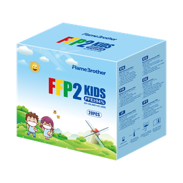 FFP2 Kindermasken FlameBrothers - 20 Stück
