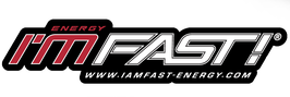 I'M FAST Energy - STICKER-