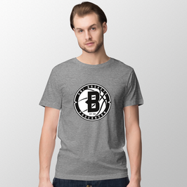 "Basic T-Shirt ""B - grey""- Herren Saison 18/19"