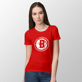 "Basic T-Shirt ""B-red"" - Damen Saison 18/19"